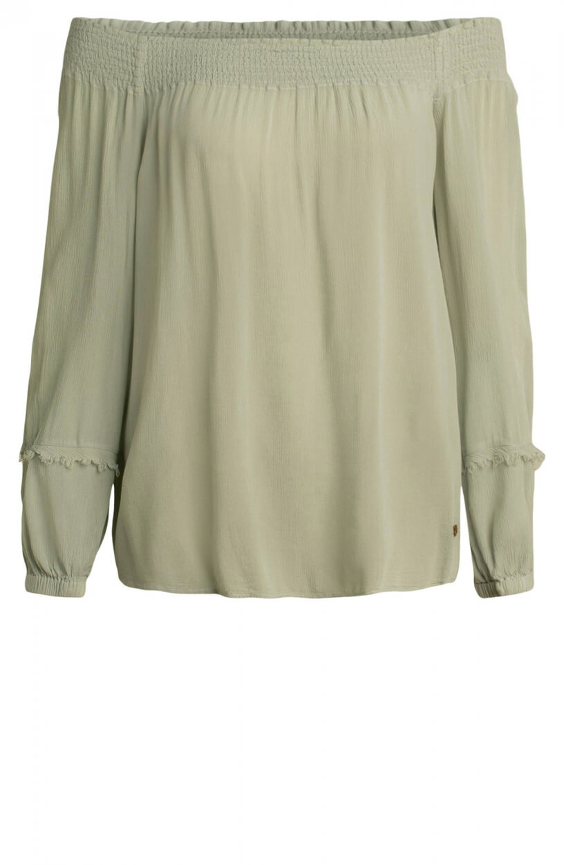 Moscow Dames Starlight blouse Groen