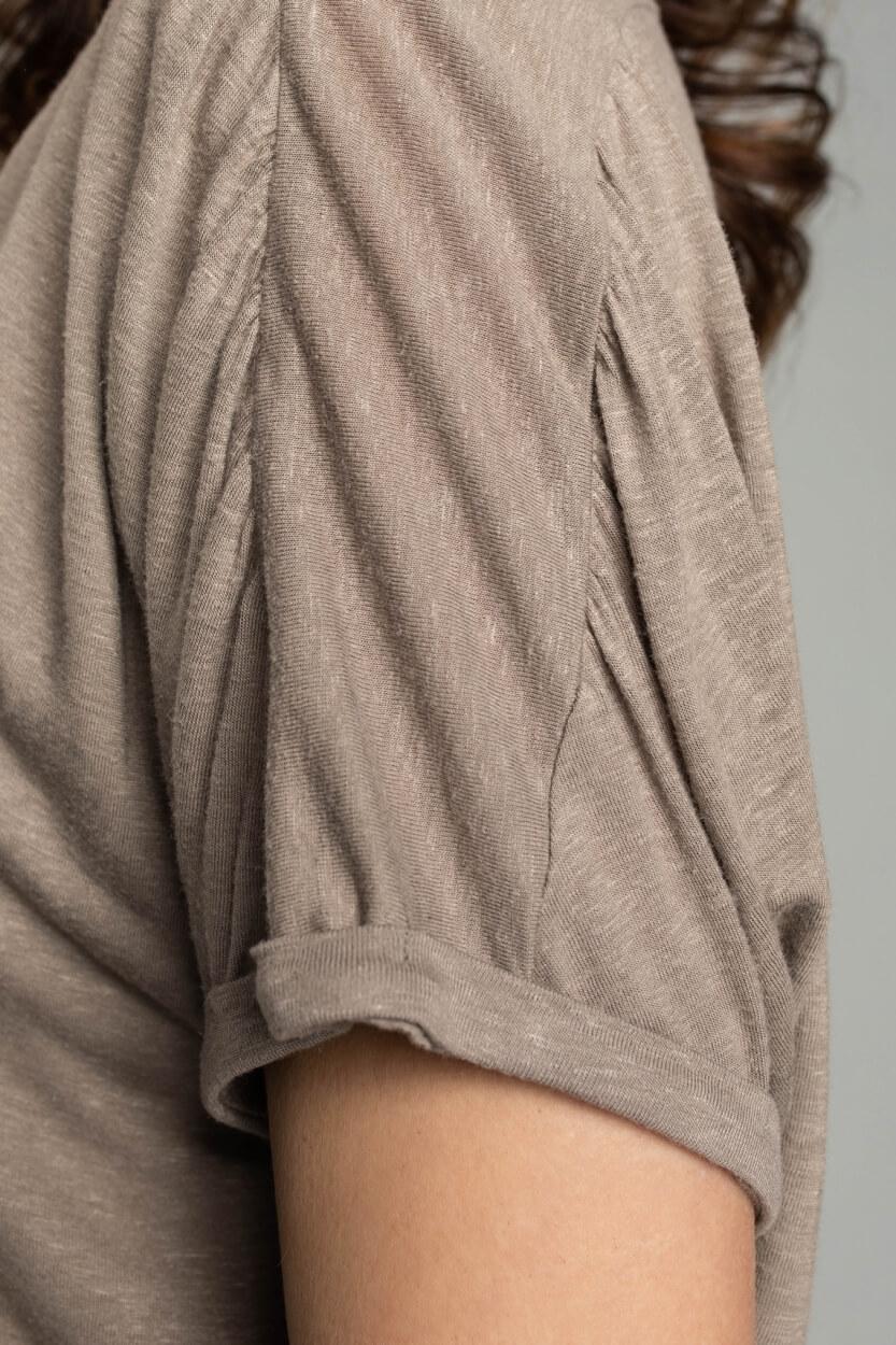 Moscow Dames Besty shirt Bruin