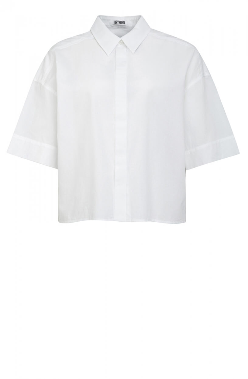 Drykorn Dames Therry linnenblouse Wit