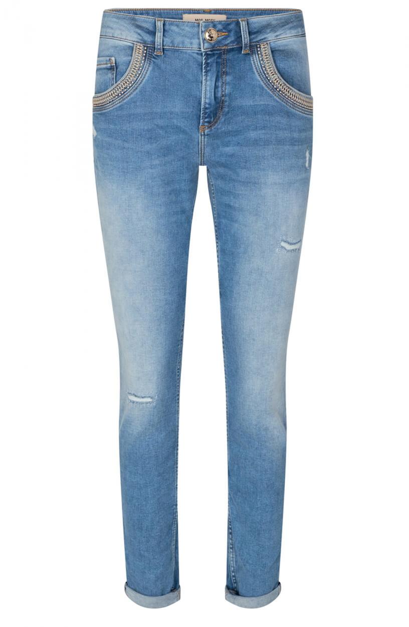 Mos Mosh Dames Bradford jeans Blauw