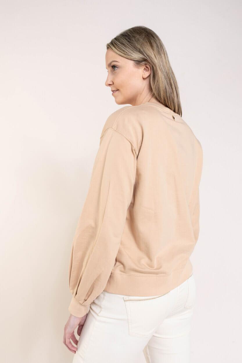 Mos Mosh Dames Zanna sweater Bruin