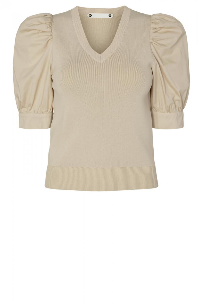 Co Couture Dames Mercia pullover Wit