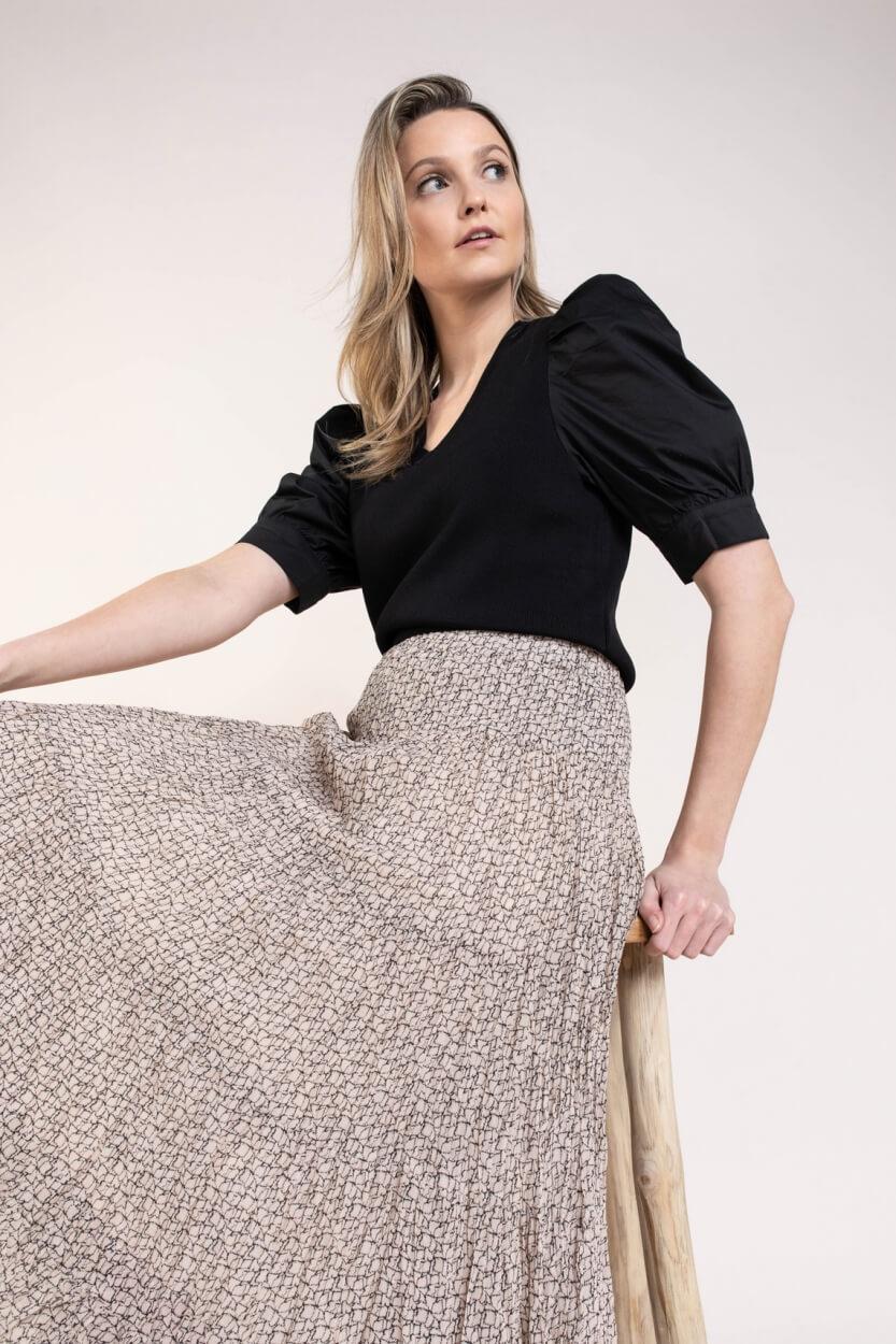 Co Couture Dames Mercia pullover Zwart