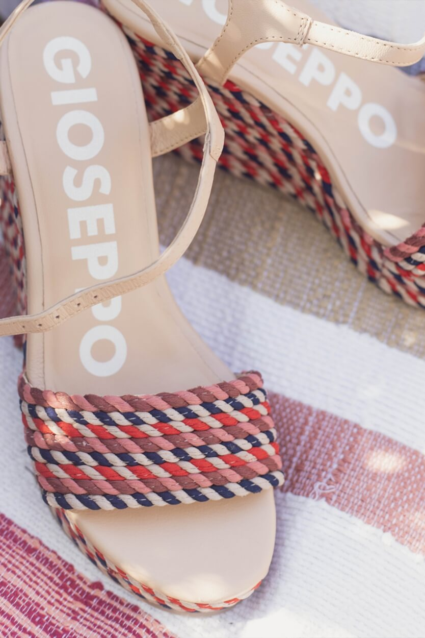 Gioseppo Dames Borba sleehak Multi colour