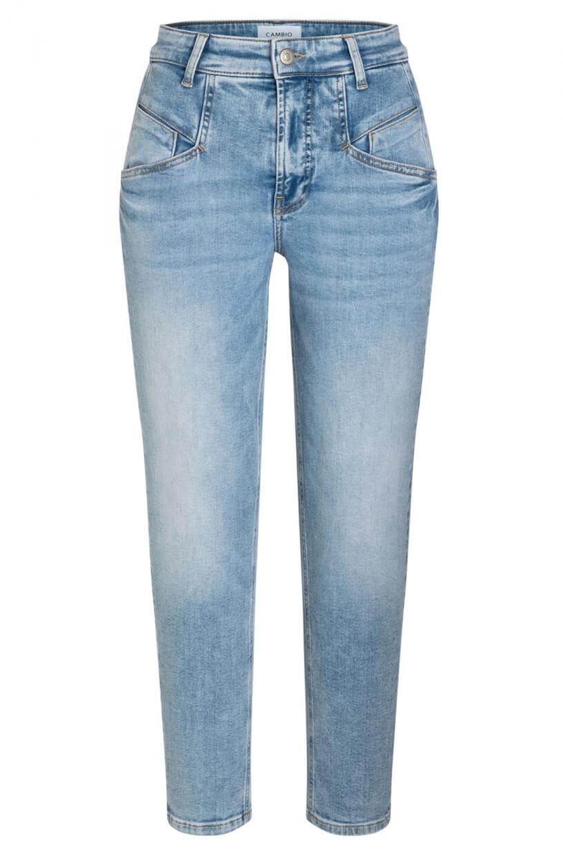 Cambio Dames Kacie jeans Blauw