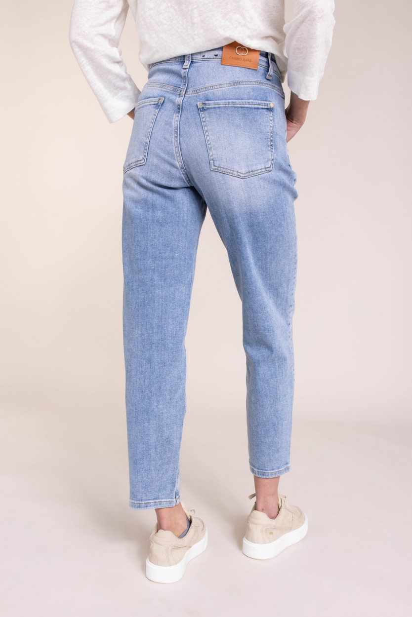 Cambio Dames Kacie jeans Bruin
