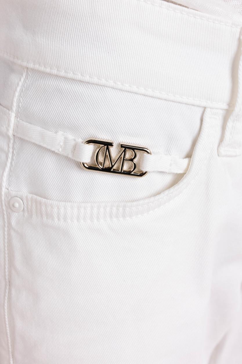 Cambio Dames Paris jeans Wit