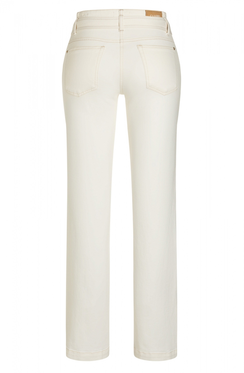 Cambio Dames Tess jeans Ecru
