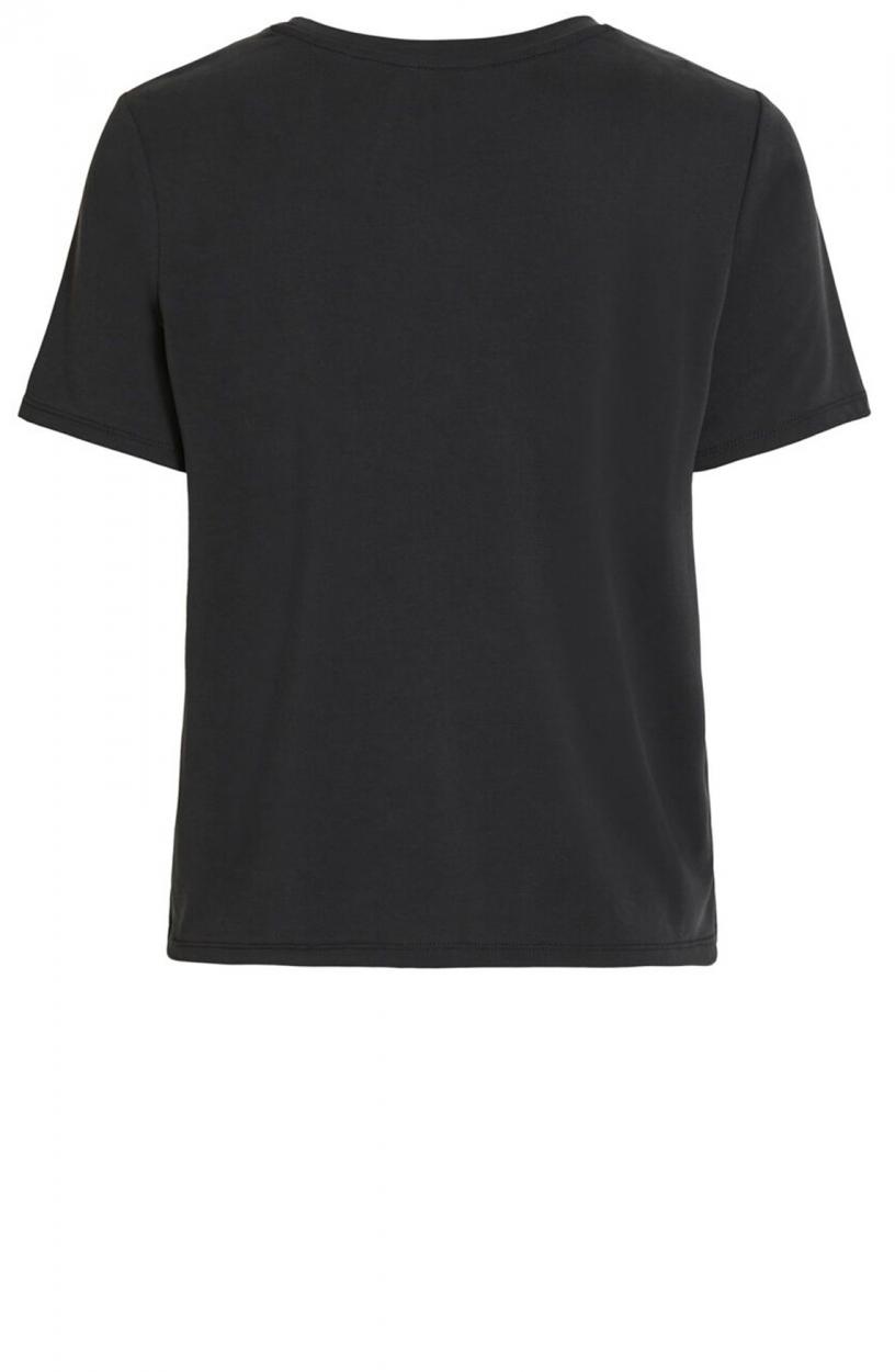 Object Dames Jannie Nadia shirt Zwart