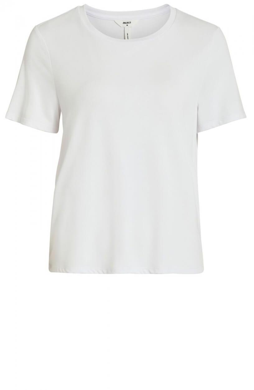 Object Dames Jannie Nadia shirt Wit