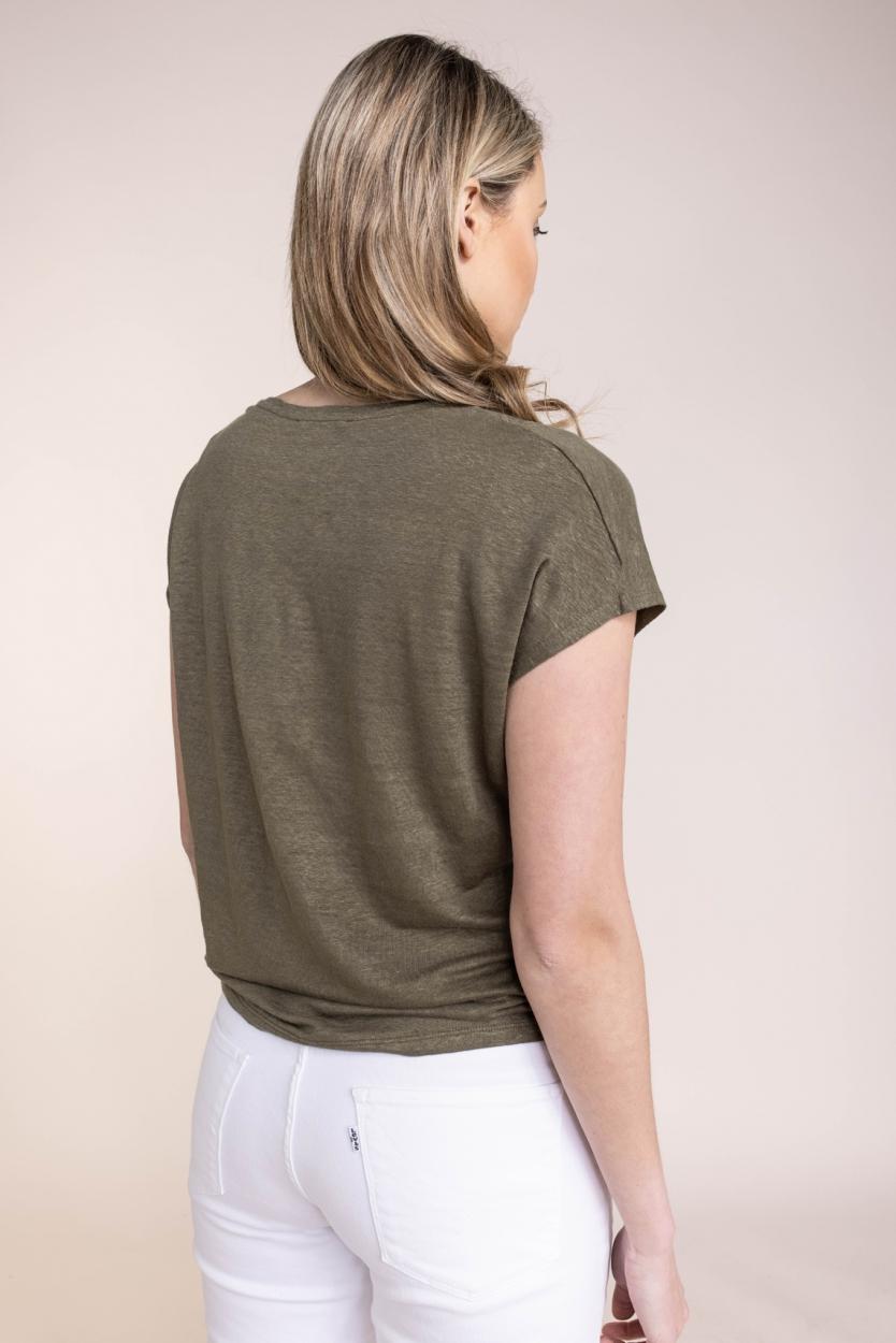 Emotions Dames Gebreid shirt Groen