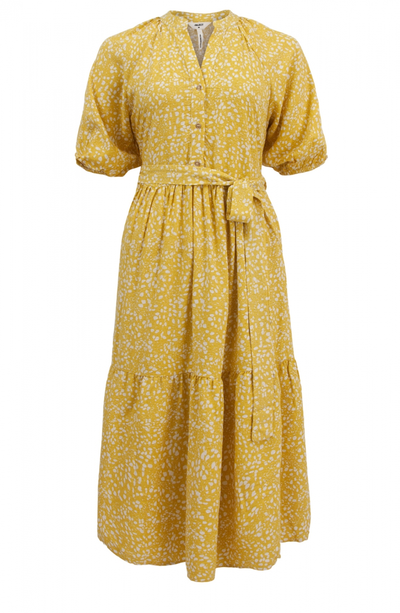 Object Dames Hessa jurk Geel