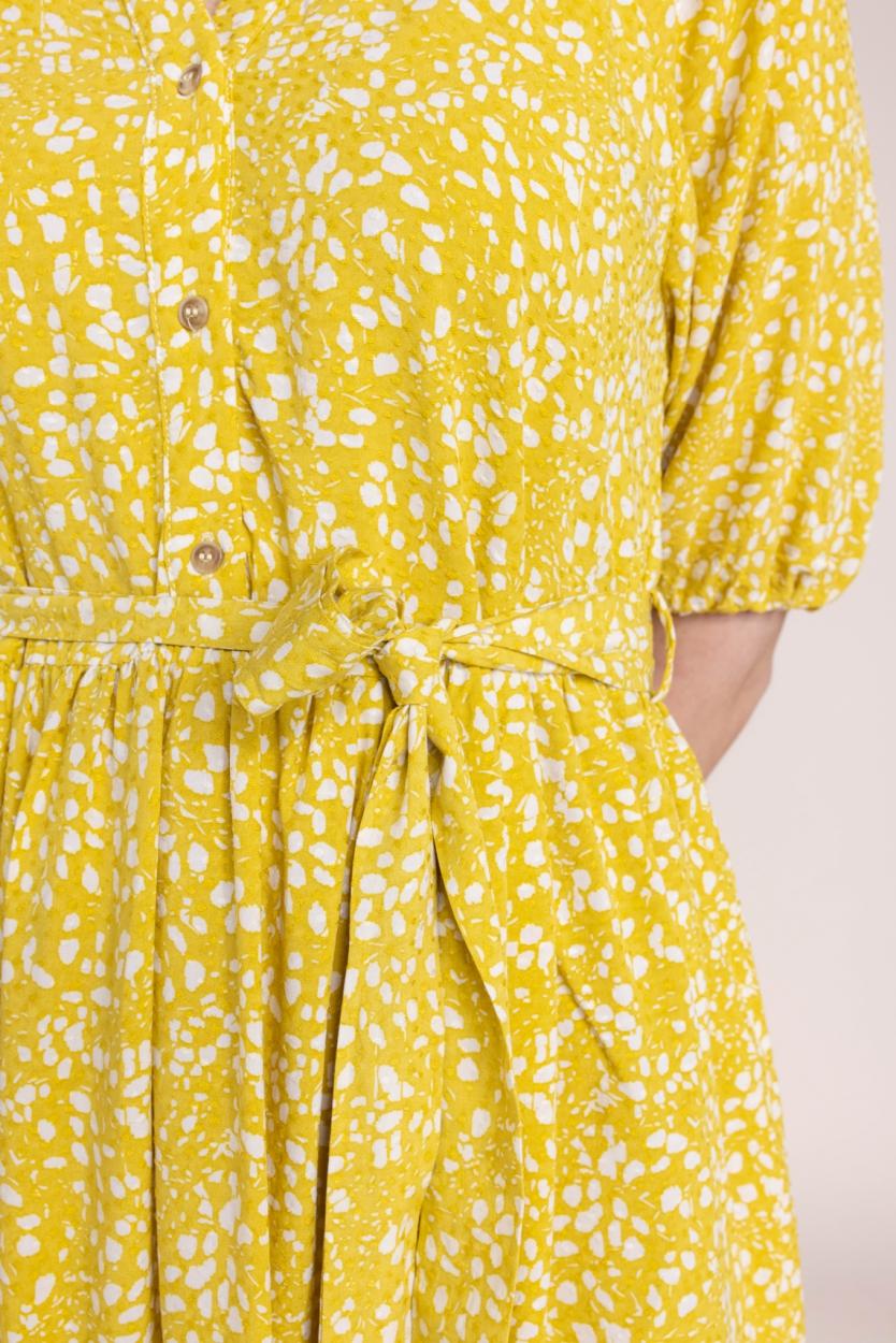 Object Dames Hessa jurk Groen