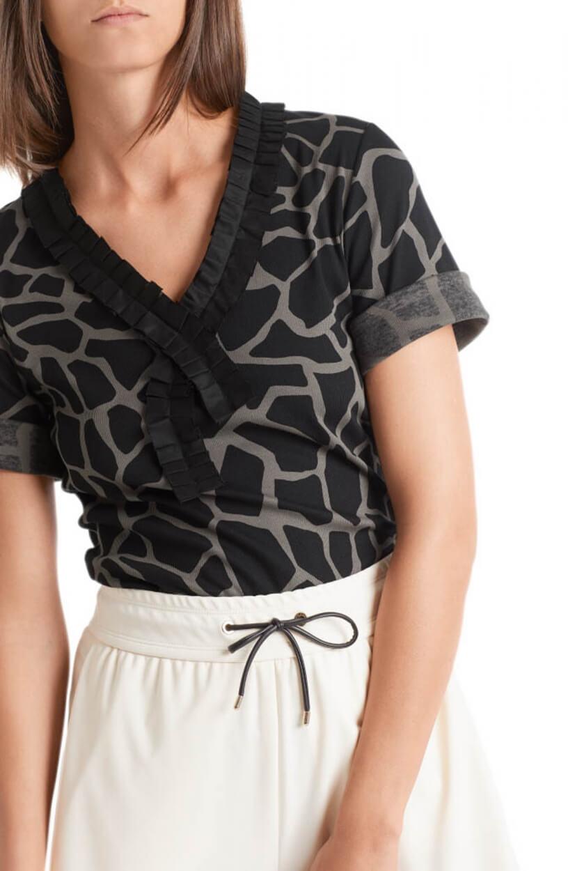 Marccain Dames Shirt Zwart