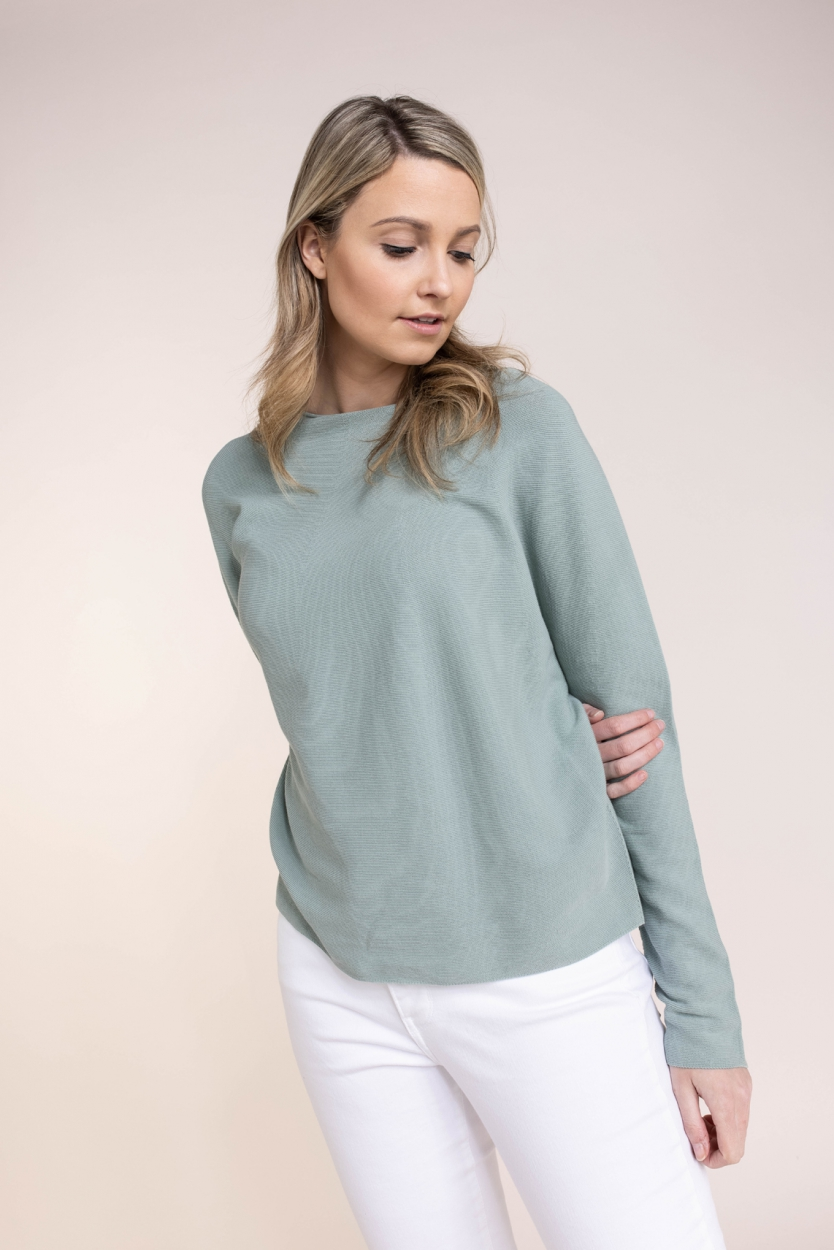 Drykorn Dames Maila pullover Groen