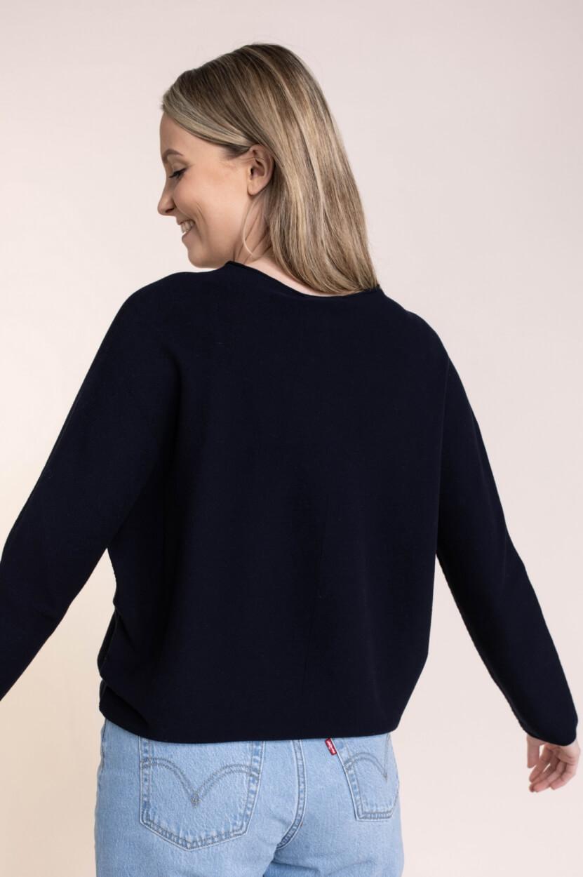 Drykorn Dames Maila pullover Blauw
