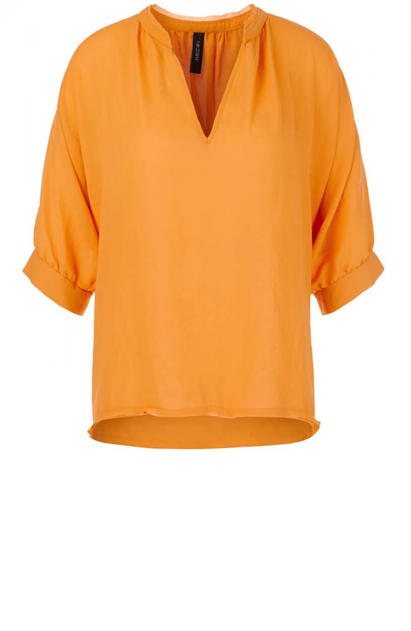 Marccain Dames Crêpe blouseshirt Geel