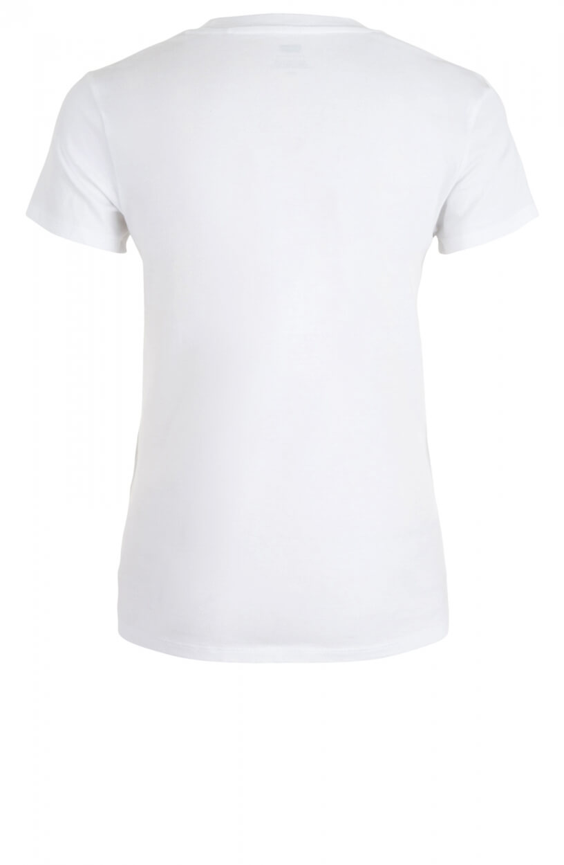 Levi's Dames Shirt met merklogo Wit