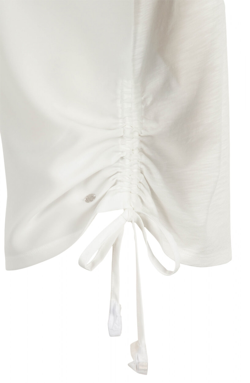 Monari Dames Shirt met zakje Wit