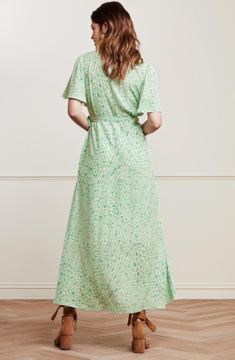 Fabienne Chapot Dames Archana jurk Groen