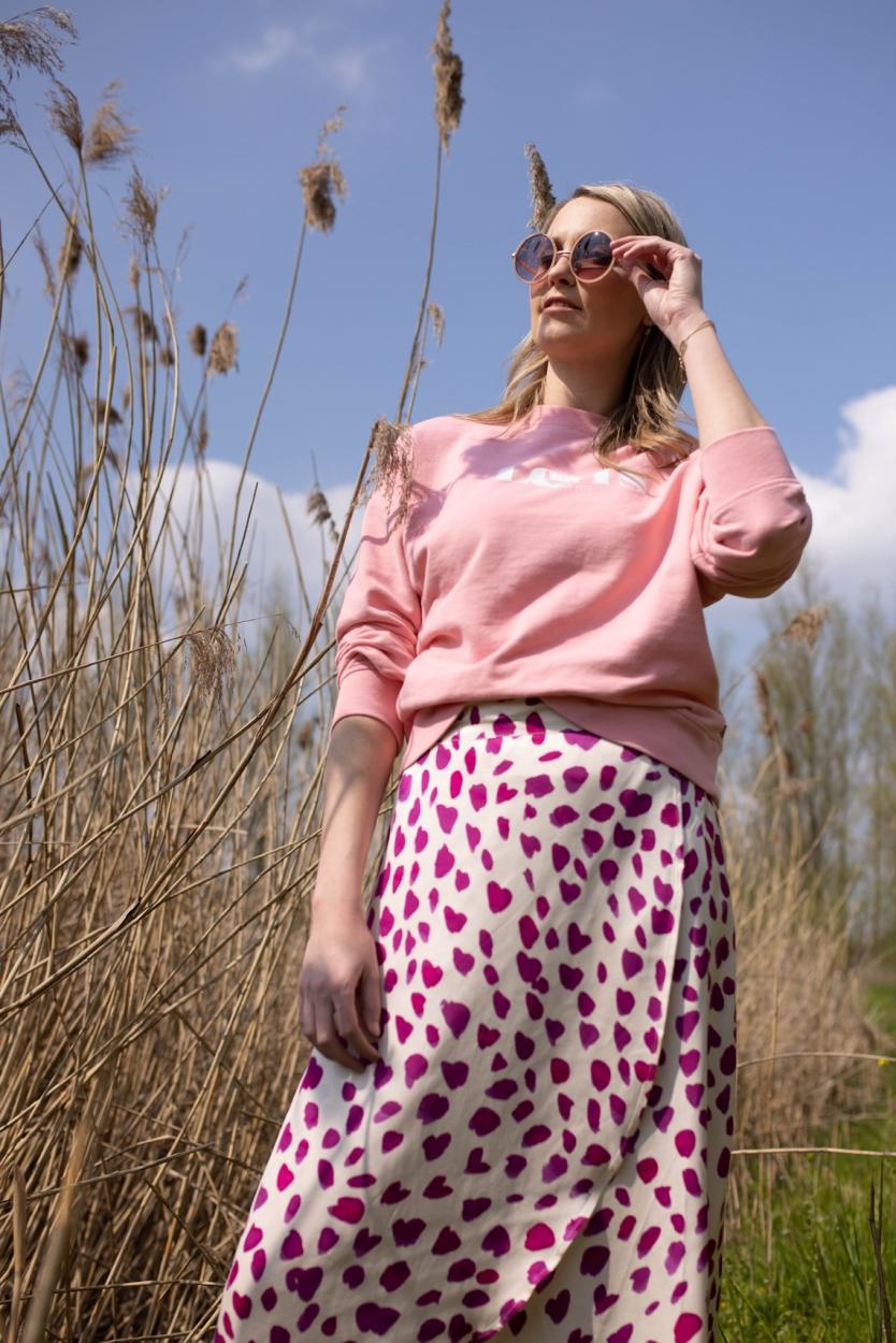 Fabienne Chapot Dames Cora overslag rok Wit