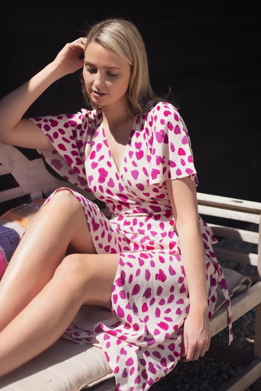 Fabienne Chapot Dames Archana jurk Roze