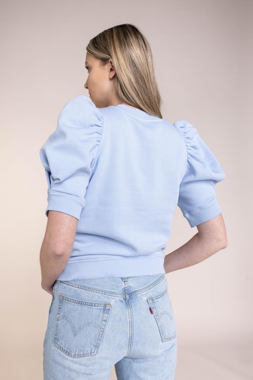 Second Female Dames Miami sweater Blauw