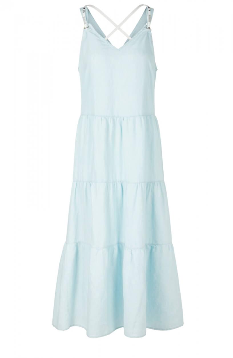 Marccain Sports Dames Jeans jurk Blauw
