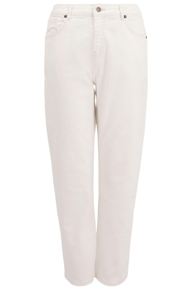 Moss Copenhagen Dames Adrina jeans Wit