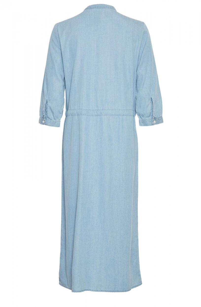 Moss Copenhagen Dames Jaina jurk Blauw