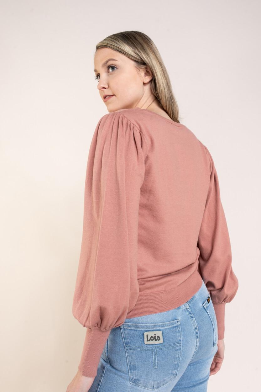 Moss Copenhagen Dames Talma pullover Roze