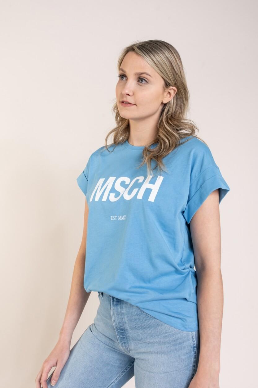 Moss Copenhagen Dames Alva shirt Blauw