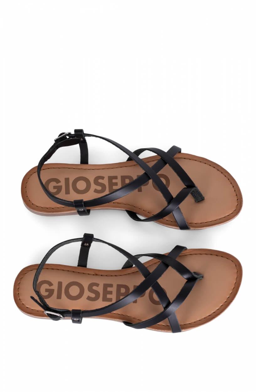 Gioseppo Dames Vina sandalen Zwart