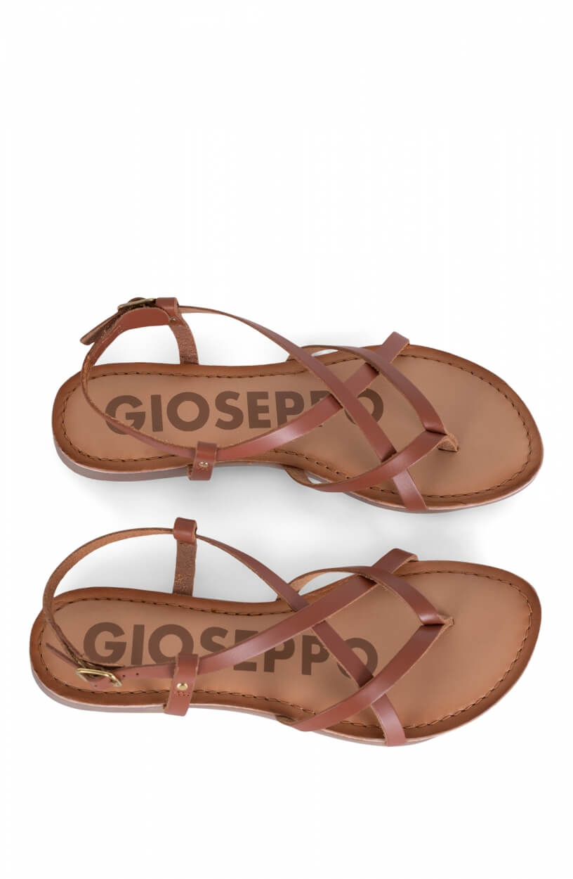 Gioseppo Dames Vina sandalen Bruin