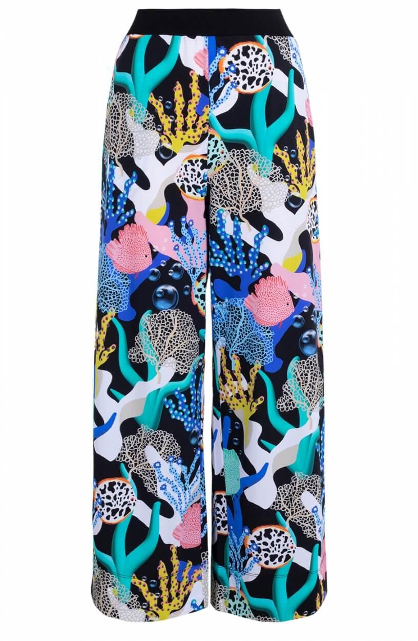 Marccain Sports Dames Coral beachpantalon Zwart