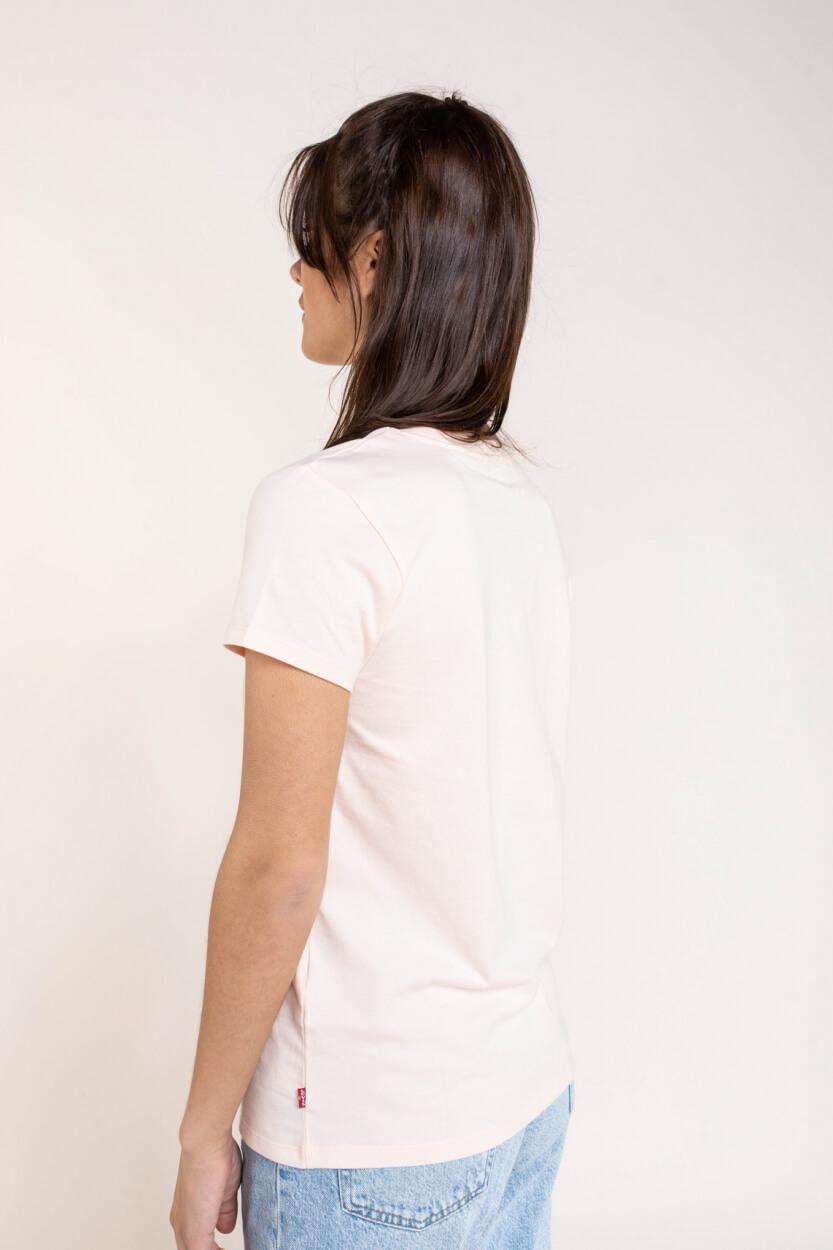 Levi's Dames Shirt met logoprint Geel