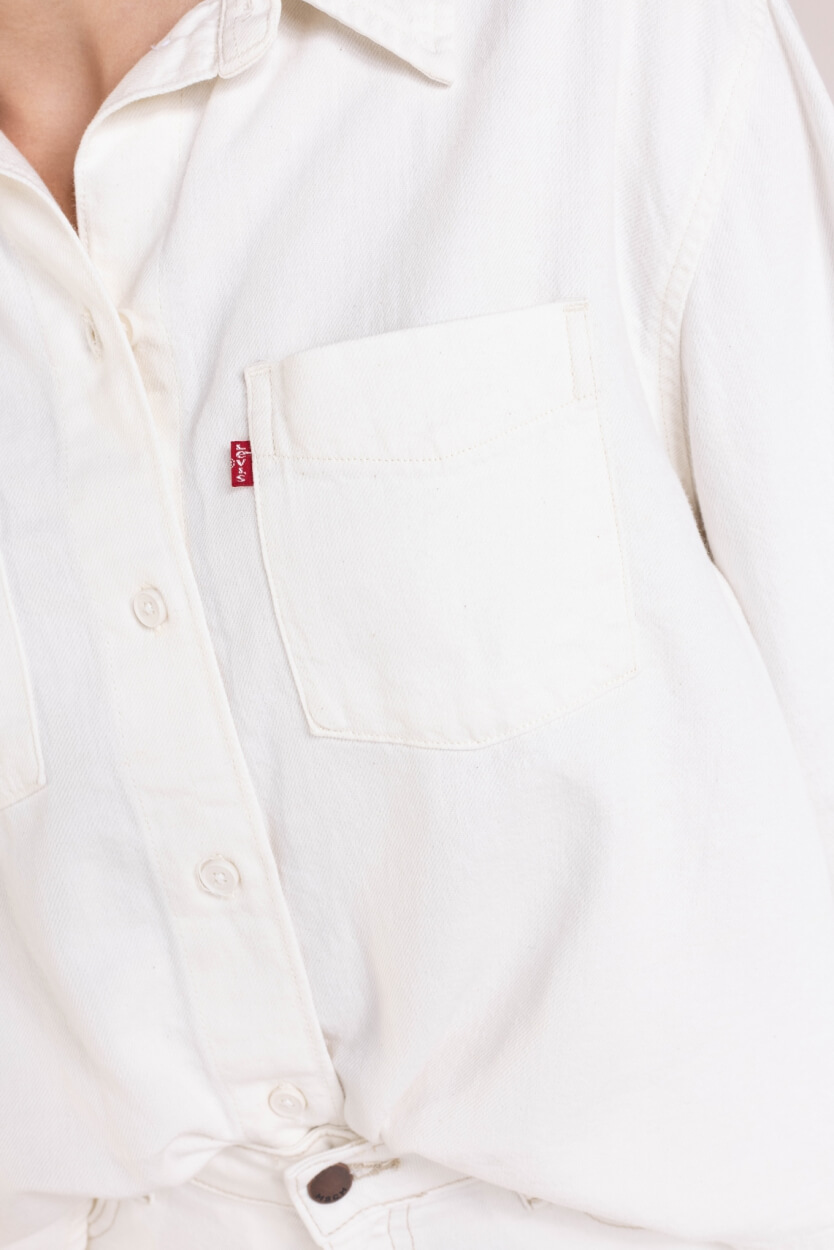 Levi's Dames Zoey Utility blouse Wit
