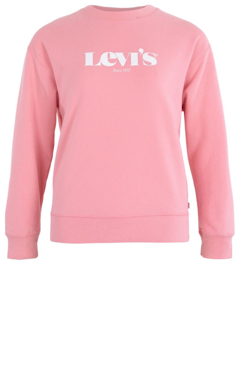 Levi's Dames Sweater met merklogo Roze