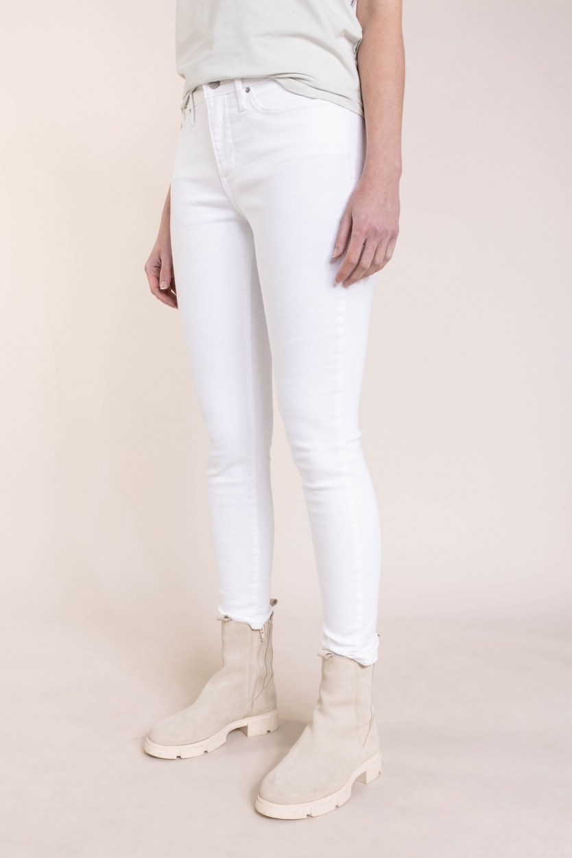 Levi's Dames 311 L30 shaping skinny Wit