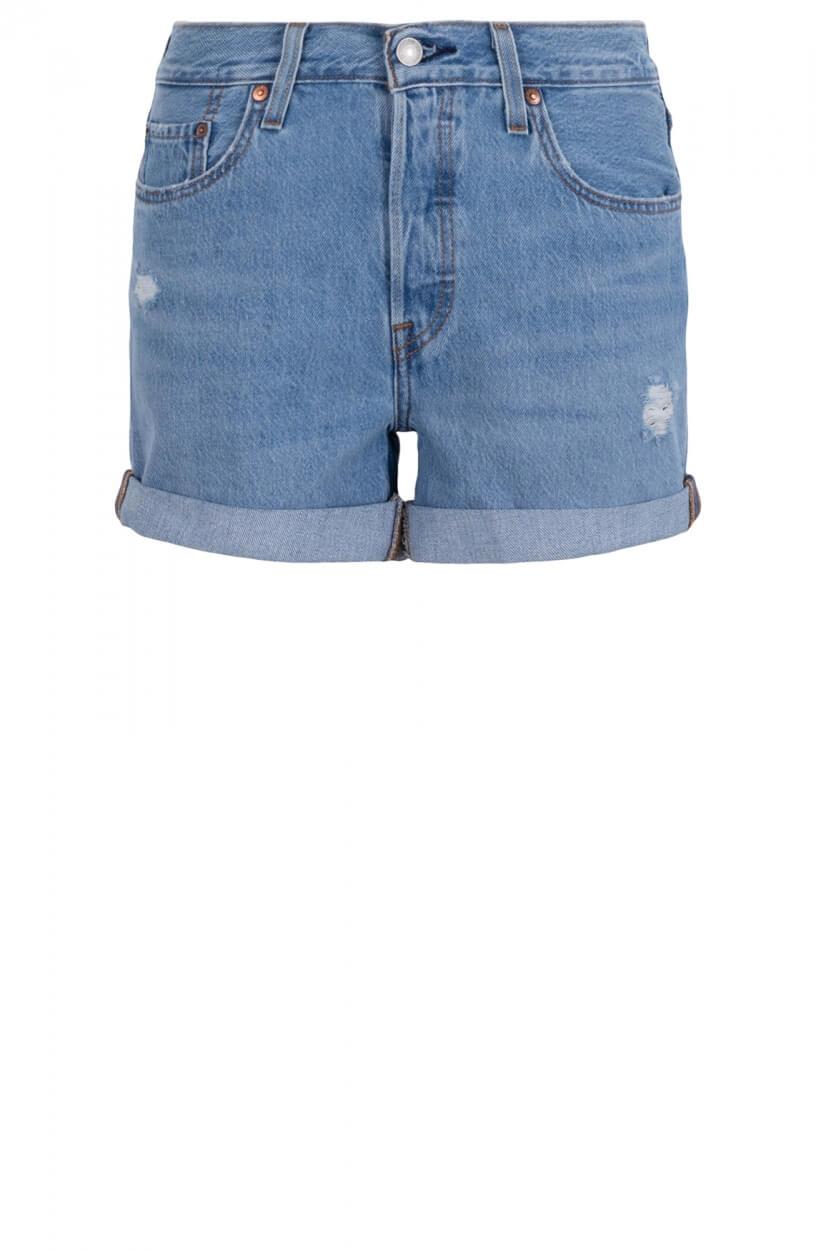 Levi's Dames 501 short Blauw