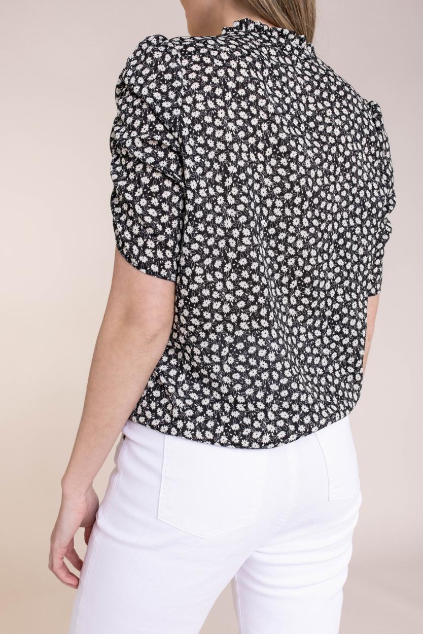 Geisha Dames Daisy blouse Zwart