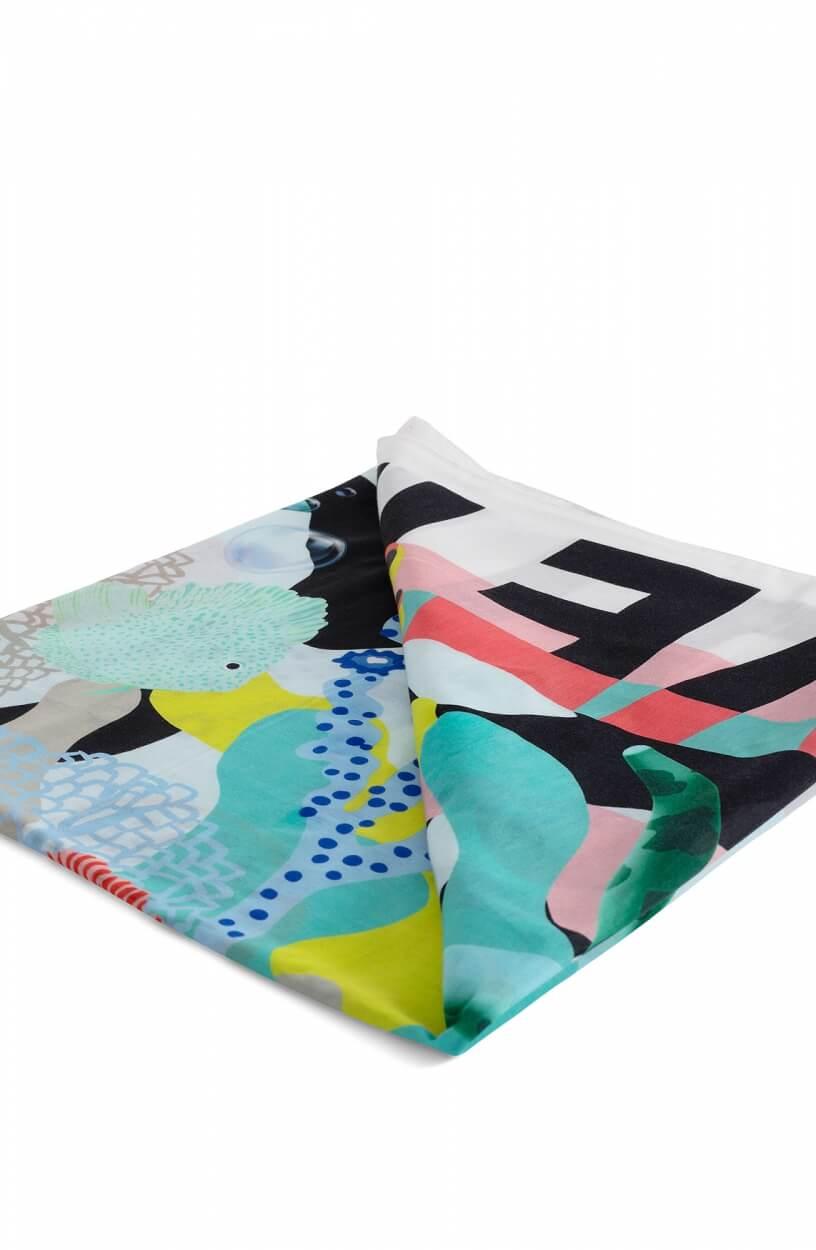 Marccain Sports Dames Coral shawl Groen
