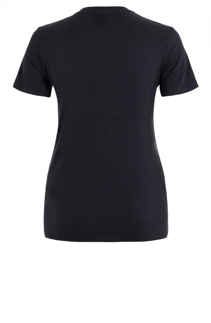Levi's Dames Printlogo shirt Zwart