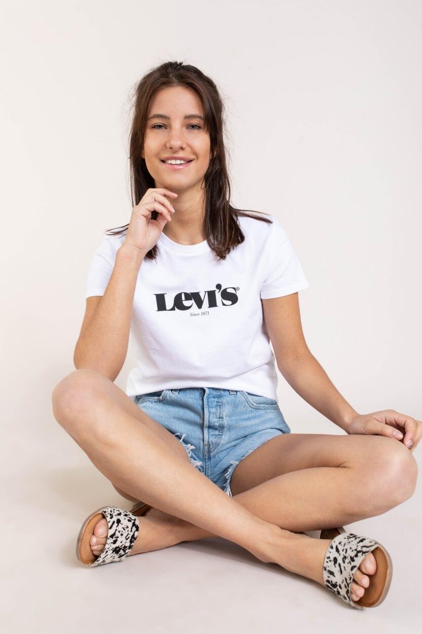 Levi's Dames Logoshirt Wit