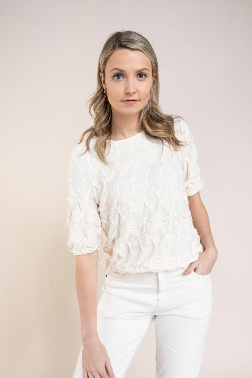 Levete Room Dames Mikana blouse Wit