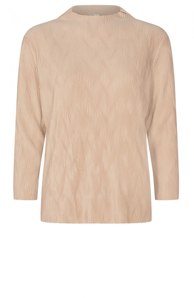 Levete Room Dames Medea blouse Bruin