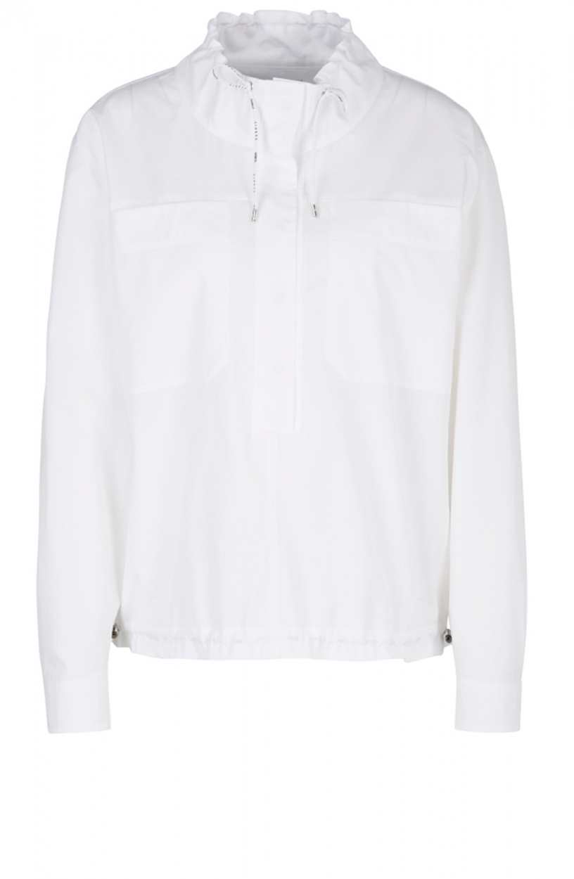 Marccain Sports Dames Oversized blouse Wit