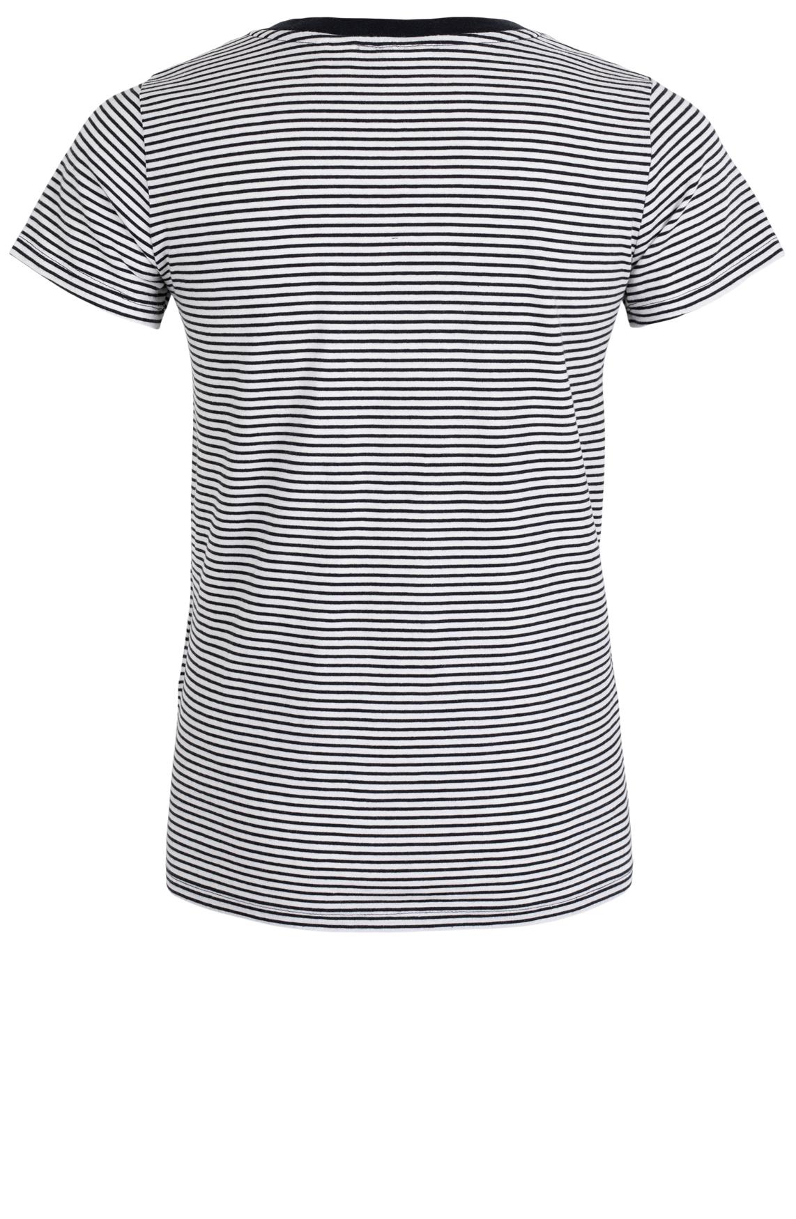 Levi's Dames Gestreept shirt Zwart