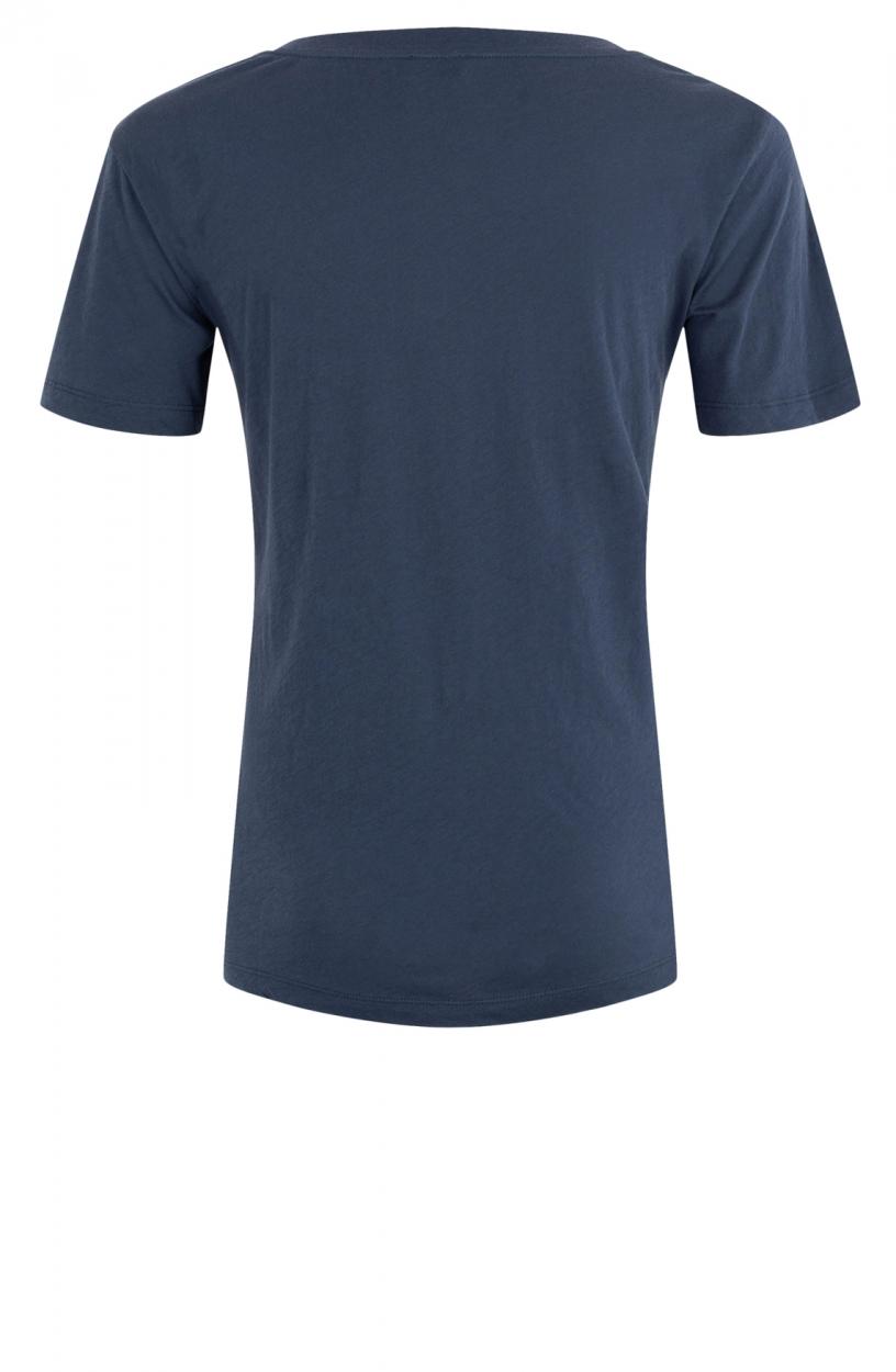 Closed Dames Shirt met v-hals Blauw