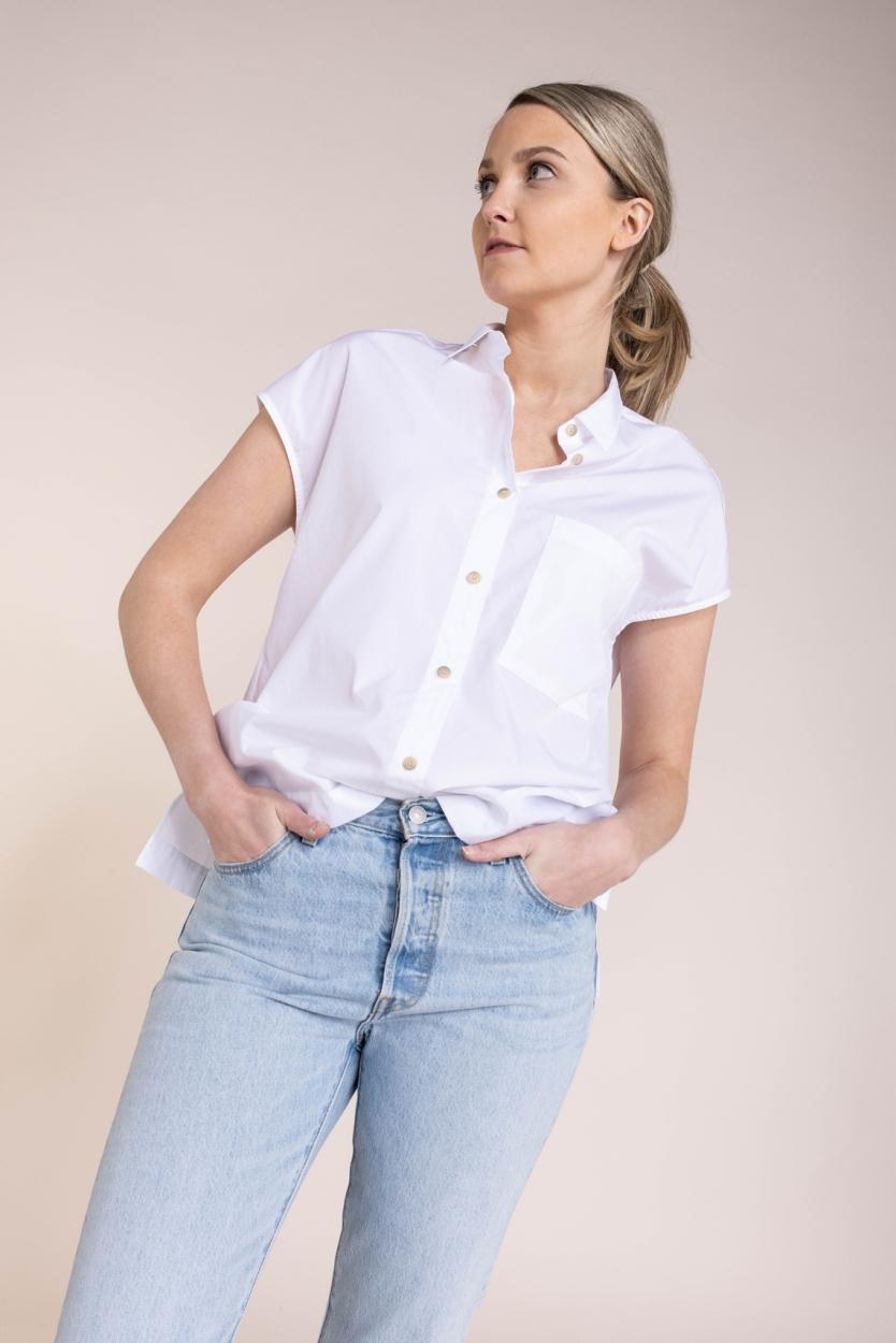 Closed Dames Rachel blouse Wit